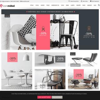 Hochwertige Designmöbel - IconMöbel