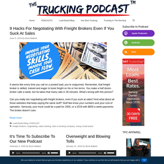 The Trucking Podcast™ - Truckers, Gearheads, Fans Of The American Garage