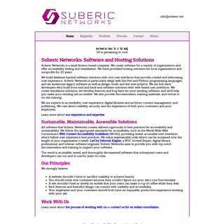 Suberic Networks