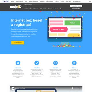 MojeID - Pro uživatele