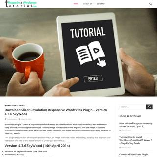 Magento WordPress Tutorial - we thingk differently