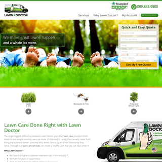 Lawn Doctor - Lawn Care Services