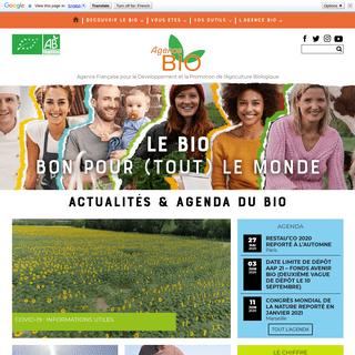 Agence Bio – Agence Française pour le Développement et la Promotion de l'Agriculture Biologique