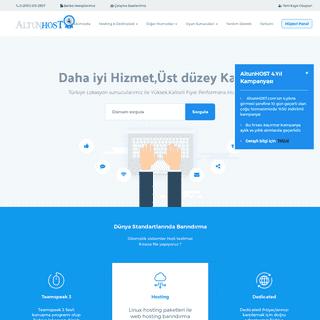AnaSayfa - AltunHOST - Internet Ve Bilişim Hizmetleri