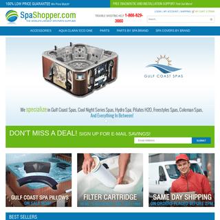 A complete backup of spashopper.com