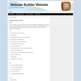 Reviews of the top 10 Website Builders - Build a Web Site - Create a Website