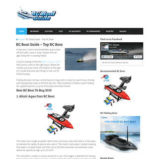RC Boat Guide