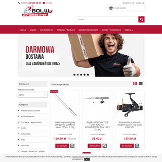 Sklep wędkarski Bolw.pl wędkarstwo sprzęt i akcesoria wędkarskie