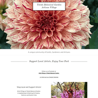 Toledo Botanical Garden Artist Village - Art Studios, Classes