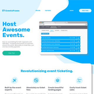 EventsFrame - Host Awesome Events