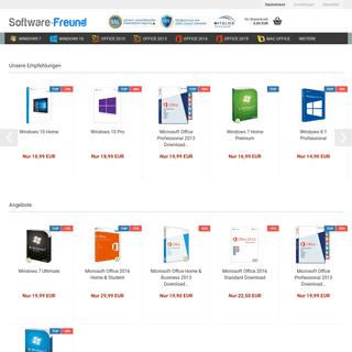 Software Freund - Bester Software Händler