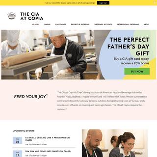 ArchiveBay.com - ciaatcopia.com - The CIA at Copia - A Food Lover's Paradise in Napa