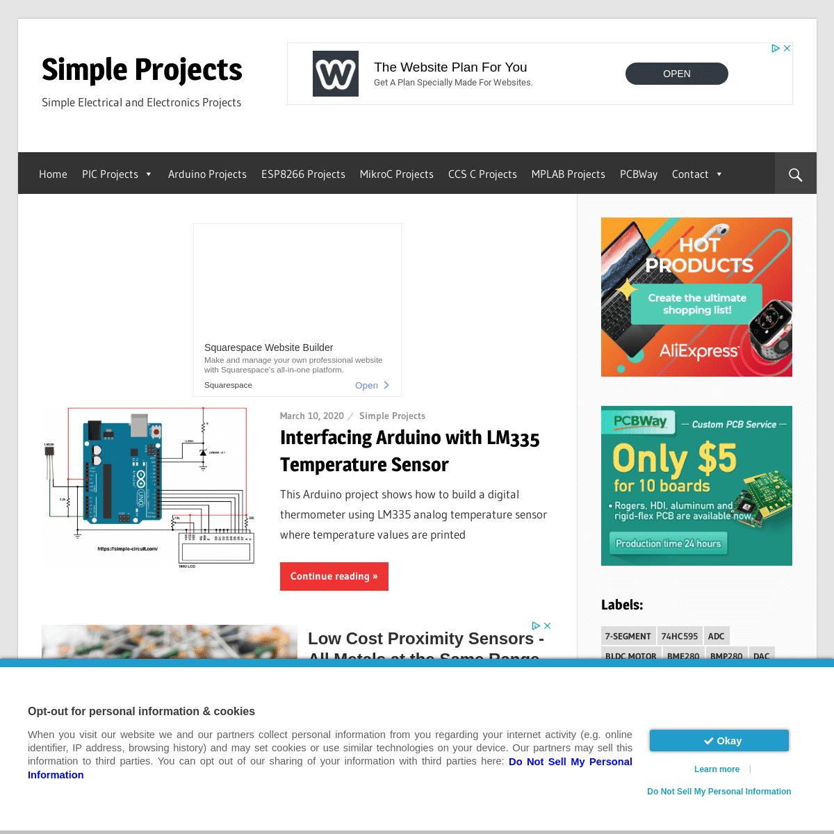 Simple Projects - Simple Electrical and Electronics Projects