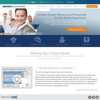 Dental Practice Management Software - Dentrix Enterprise