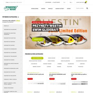 Internetowy sklep wędkarski online, sprzęt i akcesoria dla wędkarzy - Fishing-Mart