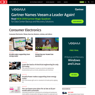 Consumer Electronics news, analysis, how-to, opinion and video. - CIO