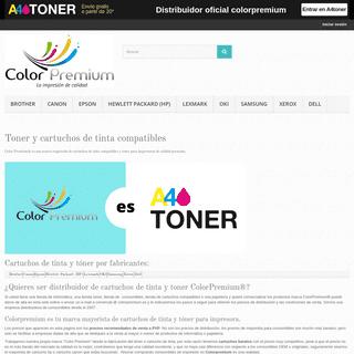 Tienda de tinta, podras comprar cartuchos de tinta y toner compatibles - Colorpremium- Tienda de toner y cartuchos de tinta comp
