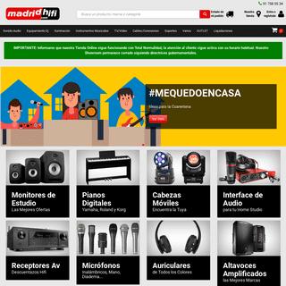 Tienda Dj,Sonido Profesional,Iluminación Disco,Micrófonos e Intrumentos Musicales.
