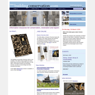 ArchiveBay.com - buildingconservation.com - The Building Conservation Website- information centre for the conservation, restoration and repair of historic buildings