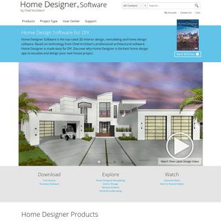 Home Designer - Home Design Software for DIY