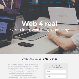 HOME - Web4Real.Ca