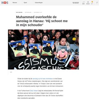 ArchiveBay.com - nos.nl/l/2323912 - Muhammed overleefde de aanslag in Hanau- 'Hij schoot me in mijn schouder' - NOS