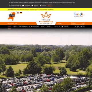 Allround Evenementenlocatie - Holland Evenementen Groep