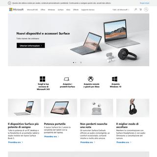 ArchiveBay.com - microsoft.it - Microsoft – Home page ufficiale