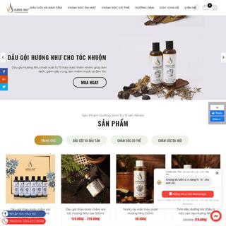 #1 Dầu gội thảo dược thiên nhiên an toàn hiệu quả - Dầu gội Hương Như