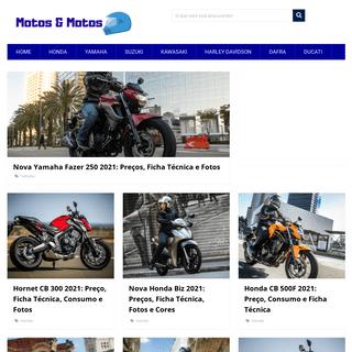Moto MOTOS - Tudo sobre Honda, Yamaha, Suzuki, Shineray etc