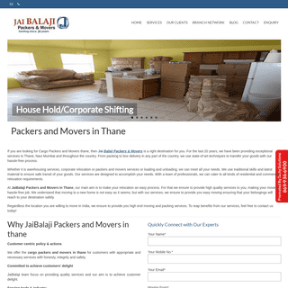 Packers and movers in thane - Movers and packers in thane - JaiBalaji