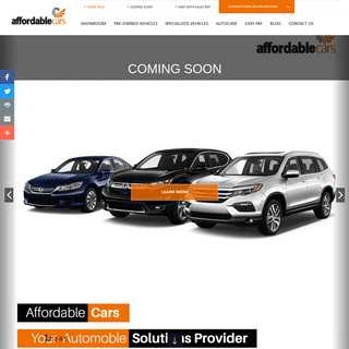 Affordable Cars - Affordable Cars