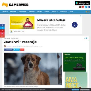 ArchiveBay.com - gamerweb.pl/zew-krwi-recenzja/ - Zew krwi - recenzja - Gamerweb.pl