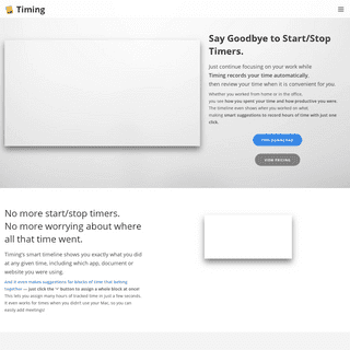 ArchiveBay.com - timingapp.com - The Automatic Mac Time Tracker — No More Start-Stop Timers — Timing
