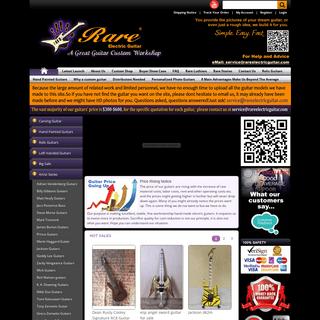 Rare Electric Guitar - Custom Guitars Shop