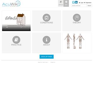 Acupuncture Wiki