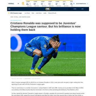 ArchiveBay.com - www.foxsports.com.au/football/uefa-champions-league/cristiano-ronaldo-champions-league-ucl-juventus-vs-lyon-result-goals-highlights-record-transfer-news/news-story/7b37df1f5248774ee6ba55cce4c8818c - Cristiano Ronaldo, Champions League, UCL, Juventus vs Lyon, result, goals, highlights, record, transfer news - Fox Sports