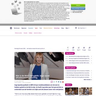 Wie is de Mol--terugblik- Inge vond afvalmoment prachtig - NU - Het laatste nieuws het eerst op NU.nl