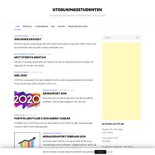 ArchiveBay.com - utdelningstudent.se - UtdelningsStudenten - Utdelningsinvesteringar ur perspektivet av en student