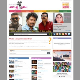 MalayalaChalachithram - Malayalam Movies, Albums, Songs and Artists Database
