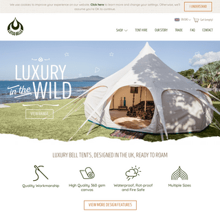 Luxury Bell Tents - Camping & Glamping - Lotus Belle Tents UK
