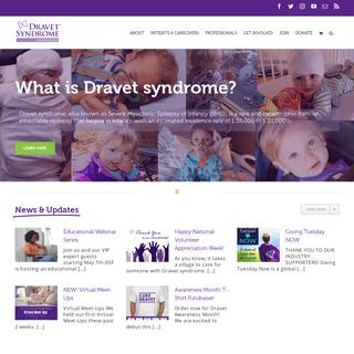 Home - Dravet Syndrome Foundation