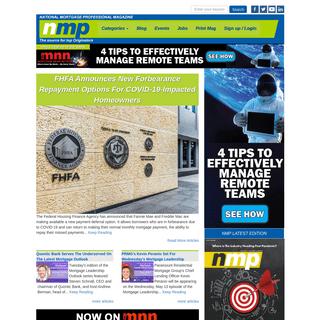 National Mortgage Professional Magazine -