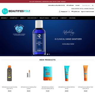 BeautifiedYou.com. Skincare, Makeup, Haircare, and Many More.