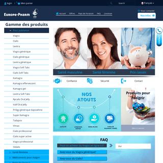 Europe-pharm.com - Première pharmacie en ligne en Europe