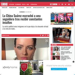 Caras - La China Suárez escrachó a una seguidora tras recibir constantes insultos
