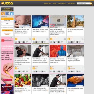 Uêba - O agregador social de conteúdo