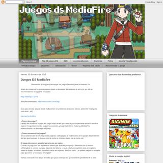 Juegos Ds Mediafire