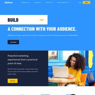 Delivra- Marketing automation that's straightforward - Delivra