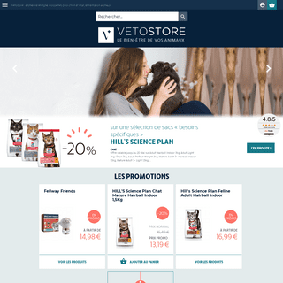 ArchiveBay.com - vetostore.com - Croquettes vétérinaires, alimentation, soins et accessoires pour animaux - Vetostore